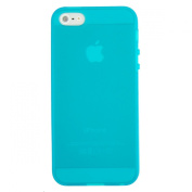 EarlyBirdSavings New Blue TPU Matte Gel Apple iphone 5 Protector Case for iphone5 6th 5G