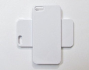 DIY White Hard Snap-on Cover Case for Apple Iphone 5 --- By Pixiheart