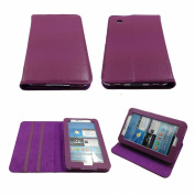 Bear Motion 100% Genuine Leather Case Cover with Stand for Samsung GALAXY Tab 2 tablet