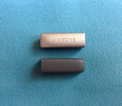 2pcs Replacement Charcoal Grey End Caps Covers for Jawbone UP 2 2nd Gen 2.0 Bracelet Band Cap Dust Protector
