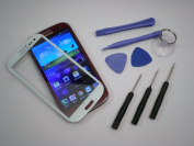 for Samsung galaxy s3 glass lens white replacement S3 III GT-i9300 verizon at & t. by Iparts