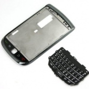 Original Genuine OEM BlackBerry Torch 9800 Front Slider Housing Faceplate Fascia Plate Panel Cover Case Repair Replace Replacement+Keyboard Keypad Key Keys Button Buttons Cover Repair Replace Replacement