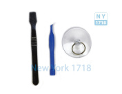 iPhone Repair Kit - Suction Cup, Plastic and Steel Pry Tools Combo
