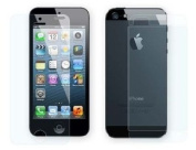 Importer520 Clear 5 X Front and Back LCD Screen Protector Cover for Apple iPhone 5S / iPhone 5