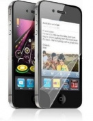 (3 Packs) HHI Crystal Clear Screen Protectors For iPhone 4