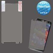 MYBAT MOTXT901LCDSCPRTW LCD Screen Protector for Motorola Electrify M XT901 - Retail Packaging - Twin Pack