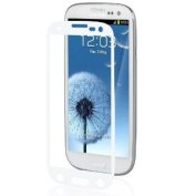 Moshi iVisor AG Screen Protector Protection for Samsung S3 S III i9300 - Anti Glare, White