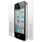 CitiGeeks® 3x Premium Screen Protector for iPhone 4. Full Body