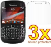 3pcs BlackBerry Bold 9900 9930 Premium Clear LCD Screen Protector Cover Guard Shield Protective Film Kit