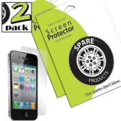 Spare Products Screen Protector Film for iPhone 4 - 1 Pack - Retail Packaging - Clear