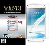 TITAN Anti-Breakage Anti-Scratch Screen Protector for for for for for for for for for for for Samsung Galaxy Note II - Frustration-Free Packaging - Clear