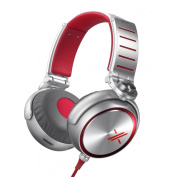 Sony MDR-X10/RED X Headphones with 50mm Diaphragms
