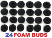 SoftRound 24 Pack Foam Earbud Replacements