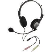 Andrea Electronics NC-185 High Fidelity Stereo PC Headset with Noise Cancelling Microphone