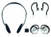 Sentry 784CD Headphones with Splitter Plug, Pack of 3 Styles