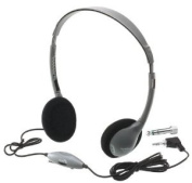 HamiltonBuhl School Mate On-Ear Stereo Headphone with in-line Volume