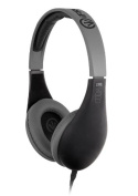iFrogz Audio Coda Over-Ear Headphones with in-line Remote and Mic - Black
