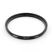 Zykkor MC UV Multicoated Ultraviolet Optical Glass filter 62mm