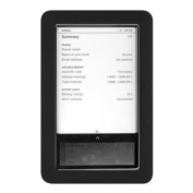Premium Black Soft Gel Silicone Skin for the Nook, Barnes and Nobles Electronic eBook Reader Case Cover