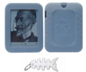 Barnes & Noble NOOK Simple Touch Reader Wi-Fi 2nd Generation (BNRV300) Silicone Skin Case Gel Cover - Clear