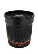 Rokinon 16M-M43 16mm f/2.0 Aspherical Wide Angle Lens for Olympus/Panasonic Micro 4/3 Cameras