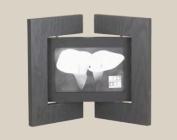 Black RICHWOOD SCREEN horizontal frame by Sixtrees - 4x6