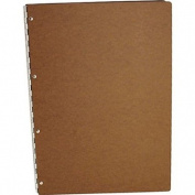 "Pina Zangaro Tera, Pressed Hardboard ""A10cm , 21cm x 30cm , Screwpost Presentation Book, Portrait Format."
