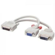 New - Y Cable-Dual Video-1 VGA & 1 DVI output - 920302-02L