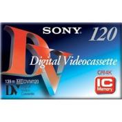 Sony DV 120 Minute Standard Size DVC w/chip