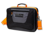 CineBags Messenger Type Laptop Bag CB-17, Black/Charcoal