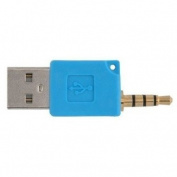 Importer520 Blue USB adapter for the 2 Gen Apple iPod Shuffle