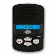 Pama Zeta Bluetooth Handsfree Speaker Sun Visor Speakerphone Car kit with Caller ID