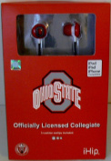 NCAA Officially Licenced Ohio State Buckeyes Earphones from IHip