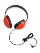 Califone First Stereo Headphone Lightweight for Young Children Red