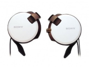 Sony Clip-on Stereo Headphones with Retractable   MDR-Q38LW W White