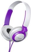 Sony MDR-XB200/V (MDRXB200-Violet) XB Extra Bass Series On-Ear Headphones