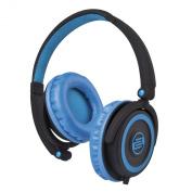 Reloop Flash Back DJ Headphones, Blue-Black