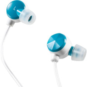 Altec Lansing MZX236TG Bliss Silver Series Headphones - Teal/Gold