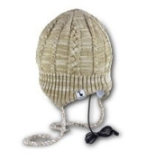 Tooks FLAPJAC Headphone Beanie With Built-in Removable Headphones - colour