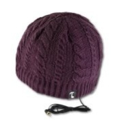 Tooks IVY Headphone Hat With Built-in Removable Headphones - colour