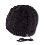 Tooks IVY Headphone Audio Beanie Hat With Built-in Removable Headphones - colour