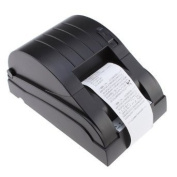 Amzdeal SC9-2012 Pos Thermal Receipt Printer Free Paper Roll High-speed 58mm USB Black