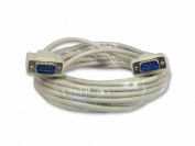 Your Cable Store 7.6m DB9 9-Pin Serial Cable Male / Male RS232