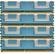 8GB 4x2GB Memory PC2-5300 FB-DIMM MEMORY Dell Precision WorkStation T5400
