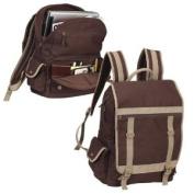 Expresso Canvas 39cm Laptop Compu-Backpack Bag