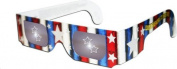3D Glasses for 4th July Fireworks - see STARS during Fireworks Show - Holographic