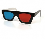 2 PairS of 3D Glasses for 2D Movies or 3D Comics