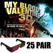My Bloody Valentine 3D Glasses Party Pack