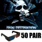 The Final Destination 3D Glasses Ultimate Party Pack