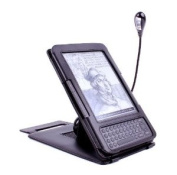 DURAGADGET Black Battery Powered Clip On Light With Flexible Neck For E-Readers Including Thalia eBook Reader 4Ink, Thalia Bookeen Cybook Odyssey, Thalia Tolino Shine And Thalia Tablet PC 4